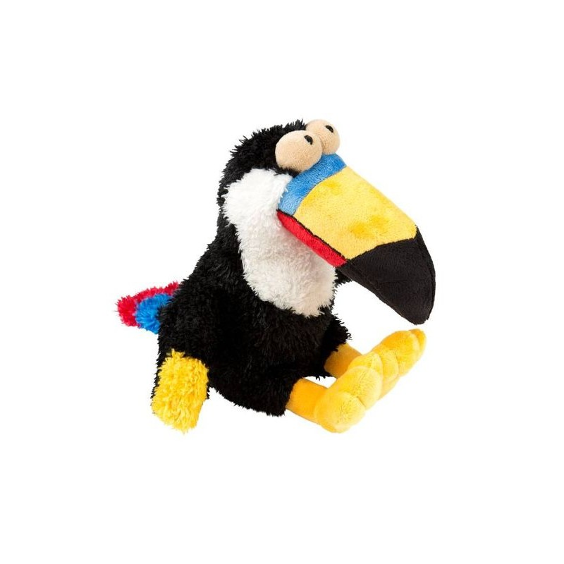 bam jouet pour chien toucan en peluche tr s tendance. Black Bedroom Furniture Sets. Home Design Ideas